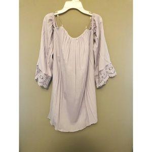 Boho Lavender Dress